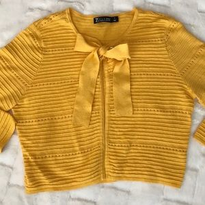 Women's 7TH Ave NY&Co Cropped Cardigan